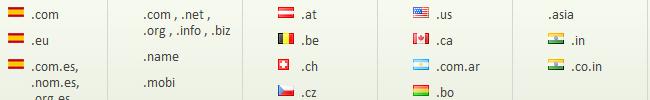 dominios gtld