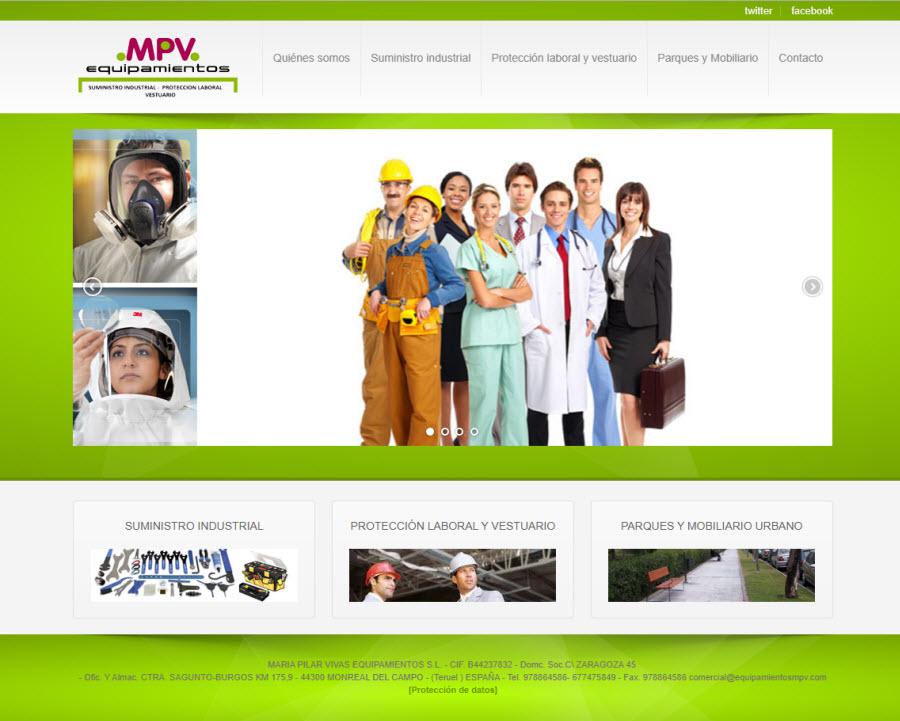 equipamientos mpv