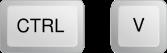 Botón Ctrl + V