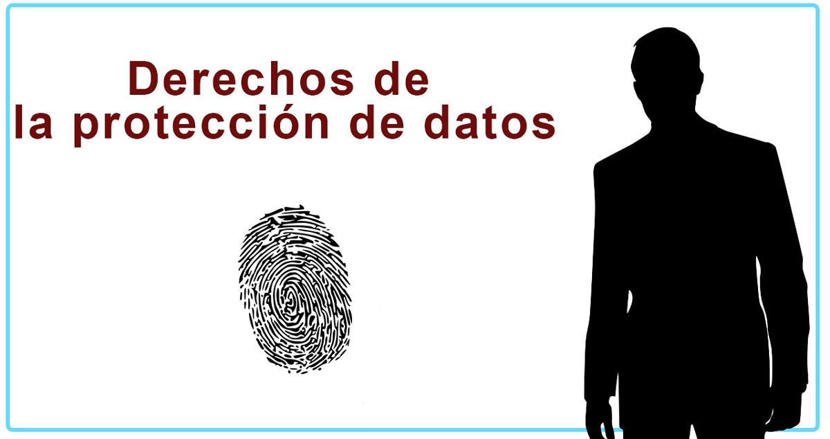 Derechos de los usuarios de la protección de datos