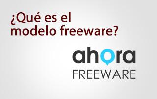 En qué consiste el modelo freeware