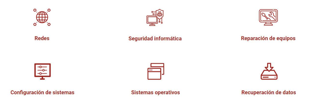 Nuestros Servicios informáticos