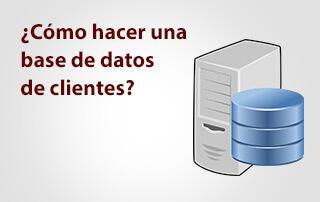 Cómo hacer una base de datos de clientes