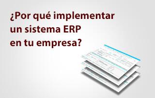 Por qué implementar sistema ERP en tu empresa