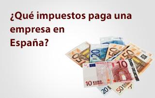 Impuestos para una empresa de España