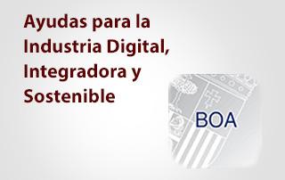 Ayudas a la industria digital integradora