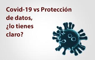 coronavirus y proteccion de datos